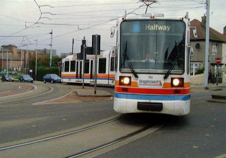 SPRUCE gives priority to trams in Sheffield